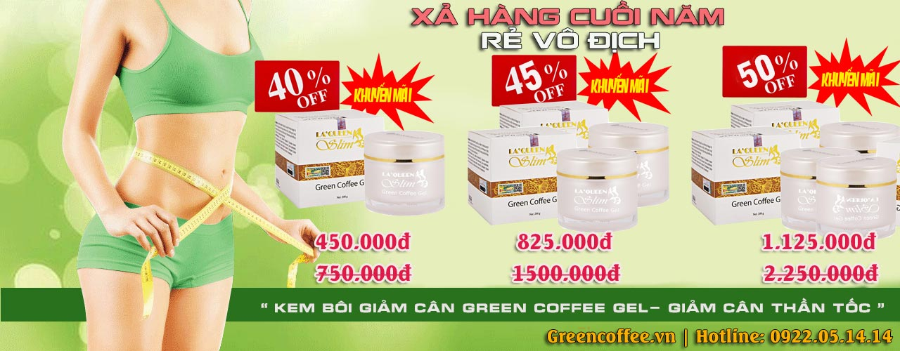 Green Coffee Gel 8