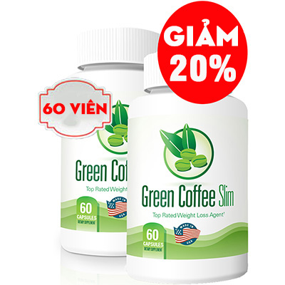 giảm 20% green coffee slim tan mỡ