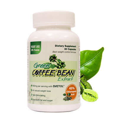 Green coffe bean extract